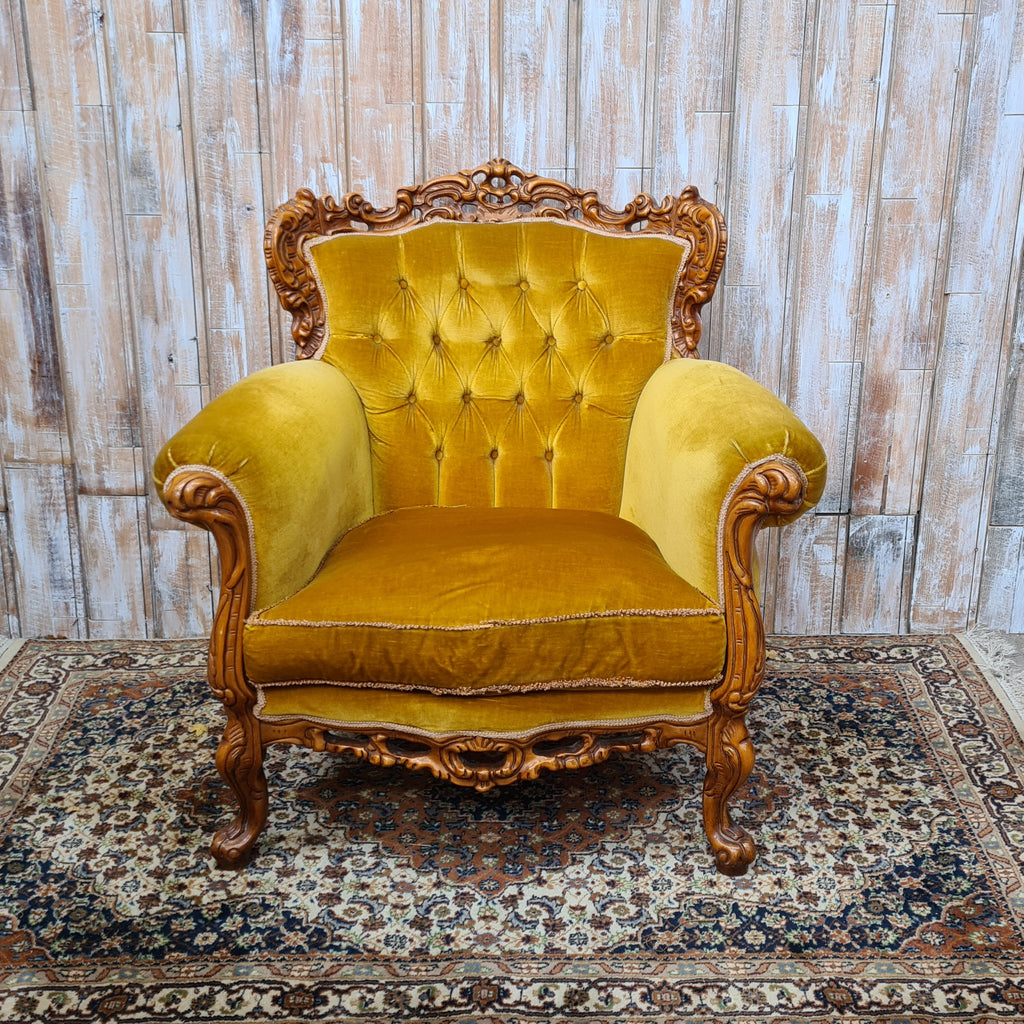 HOPE: Golden Armchair