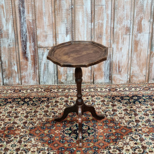 Vintage Wooden Small Side Table