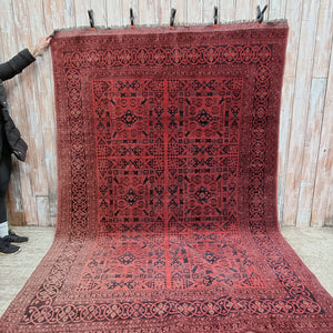 Rug 37: Extra Large Red Rug