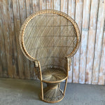 Natural Peacock Chair (A)