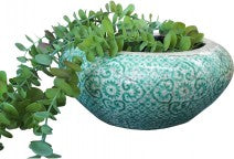 Ceramic Pot Aqua Squat Large
