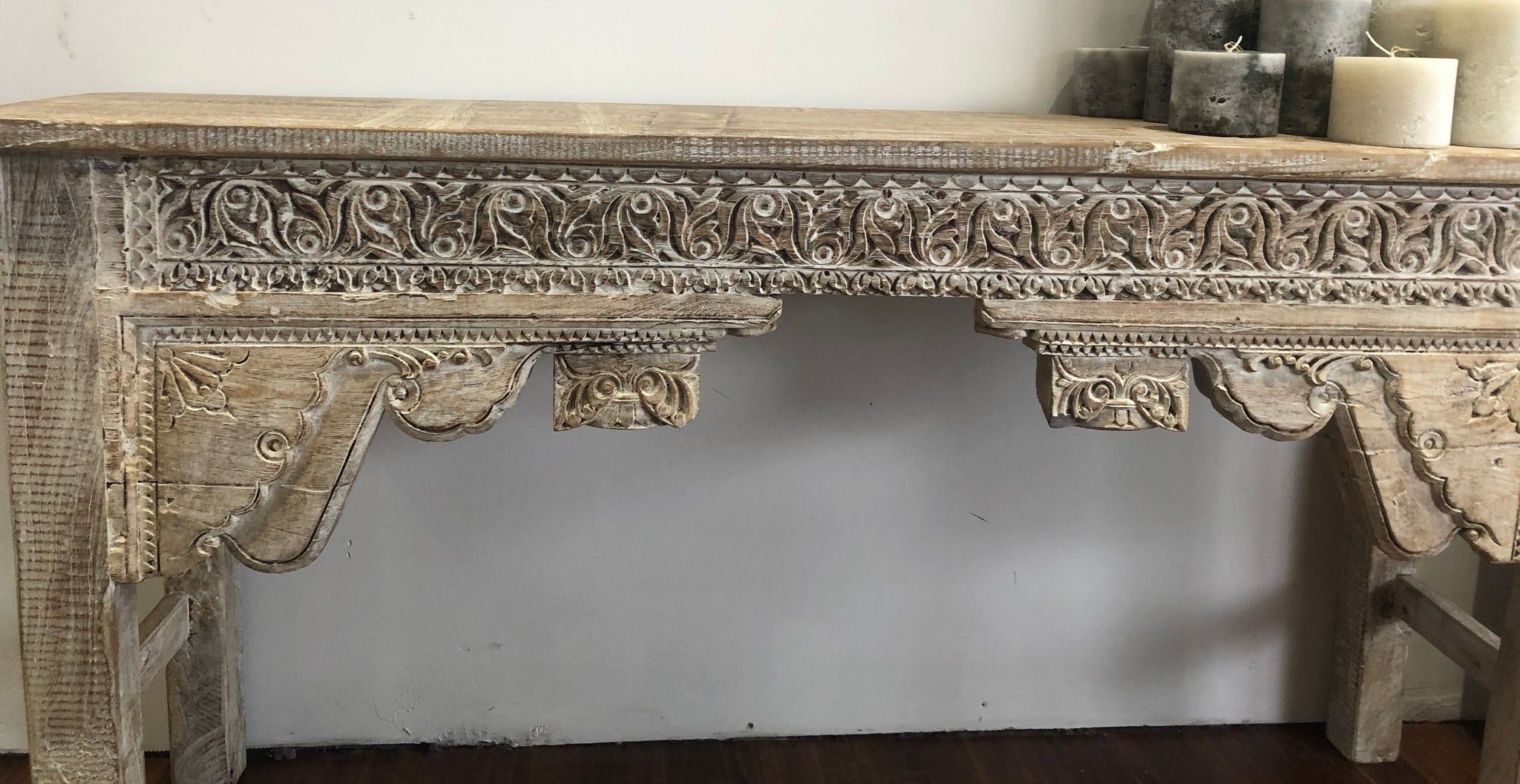 Console Whitewash Unique Pieces Please Contact The store For Stock