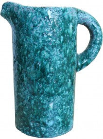 Ceramic Jug Teal