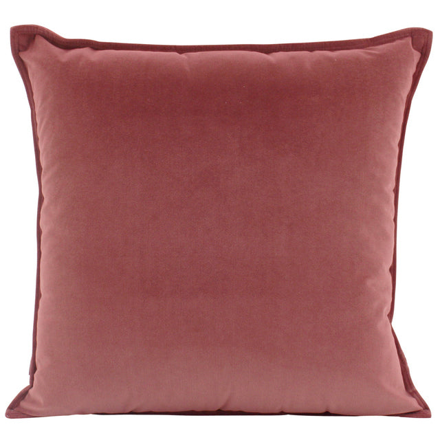 Cushion Velvet Mulberry 45cm x 45cm