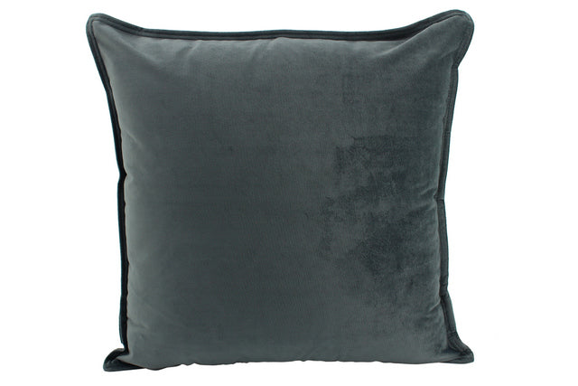 Cushion Velvet Smoke 55cm x 55cm