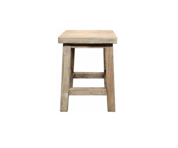Stool Flint Small Recycled Elm