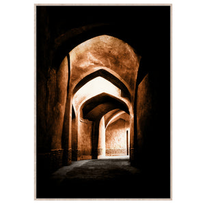 Art Print Canvas Middle East Arches