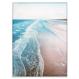 Art Canvas Print Low tide