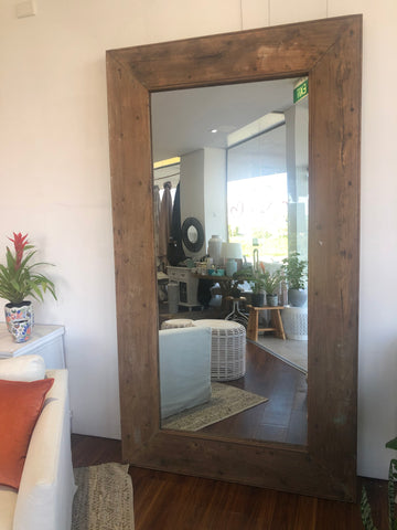 Mirror Reclaimed Timber