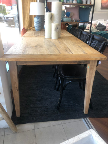 Dining Table Recycled Elm