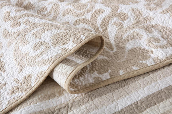 Bed Coverlet 100% Cotton  - Queen Size