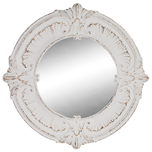 Mirror Round Pressed Metal