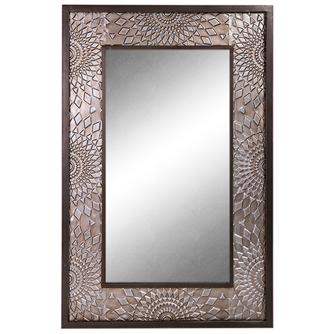 Mirror Decorative Rectangle-Slate