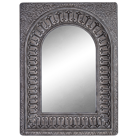 Mirror Grey Metal