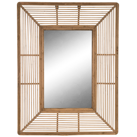 Mirror Rattan -Toffee