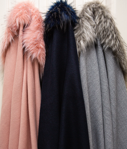 Shawl Fur Collar