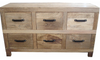 Drawers recycled whitewash timber