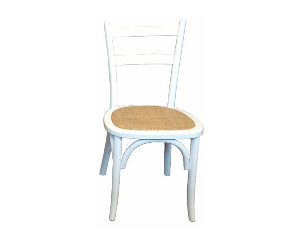 Chair Straight Back white