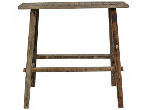 Bench Double Level Rustic