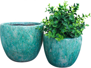 Pot Curve Aqua Large