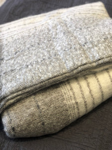 Throw Mohair Grey