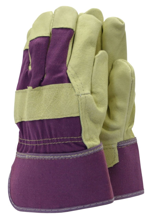 Town & Country Washable Leather Rigger Gardening Gloves