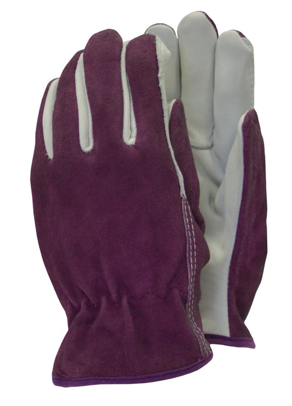 Town & Country Women's Premium Leather & Suede Gardening Gloves