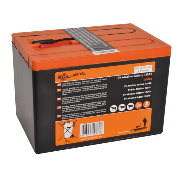Gallagher Powerpack Battery 9V 120Ah