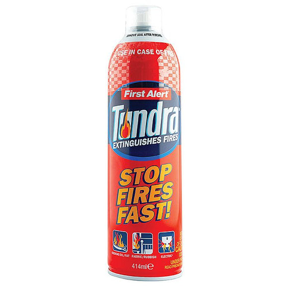 First Alert Tundra Fire Extinguisher Spray Can 414ml