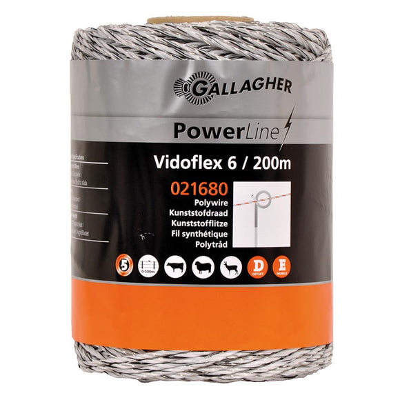 Gallagher Poly Wire 200m