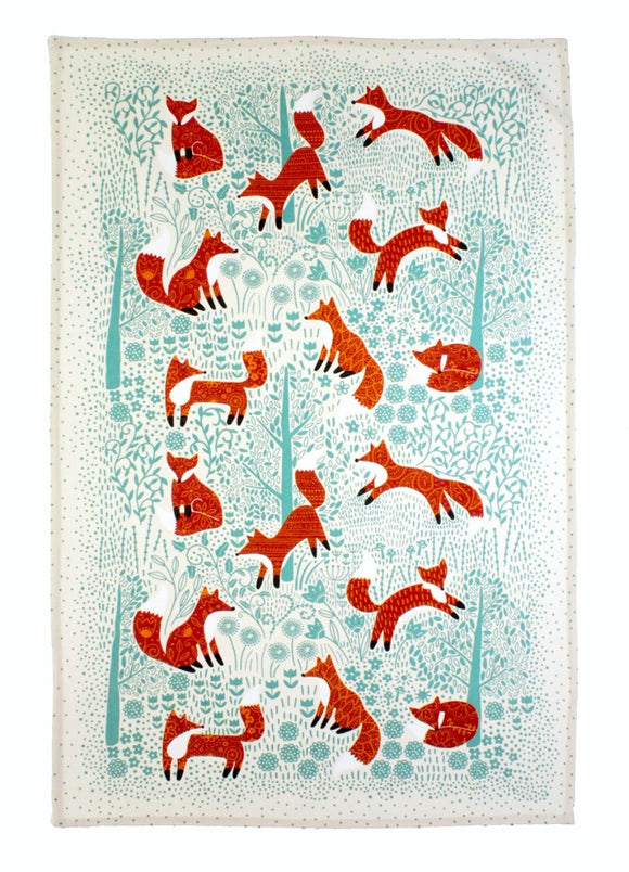Ulster Weavers Cotton Tea Towel Foraging Fox