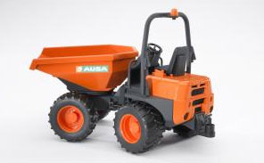 You added <b><u>Bruder AUSA Minidumper</u></b> to your cart.