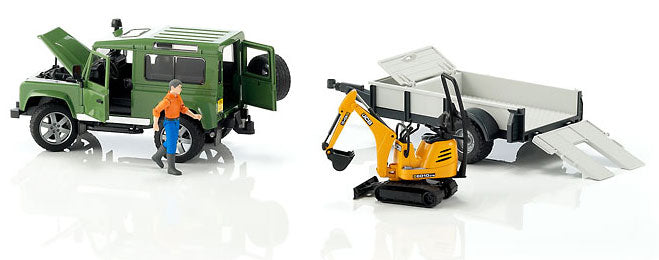 You added <b><u>Bruder Land Rover Defender With Trailer  Cat & Man</u></b> to your cart.