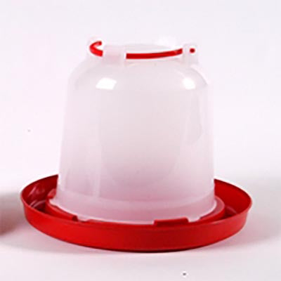 Stockshop Economy Red & White Drinker 3L