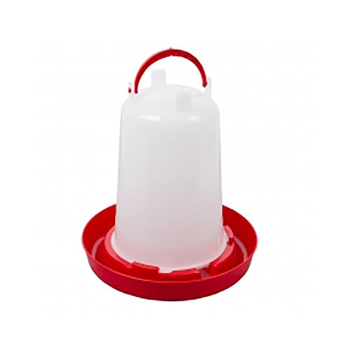 Stockshop Economy Red & White Drinker 1.5L