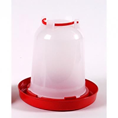 Stockshop Economy Red & White Drinker 6L