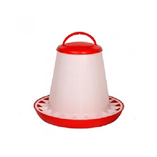 Stockshop Economy Red & White Feeder 3kg