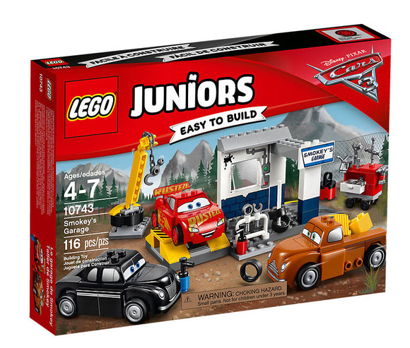 Lego Juniors Smokey's Garage 10743