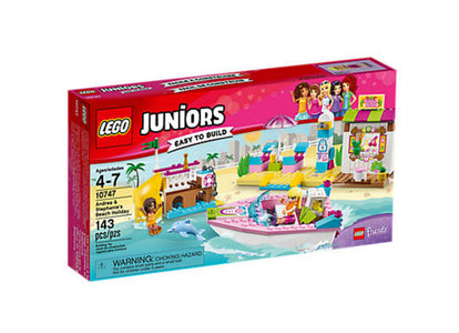 You added <b><u>Lego Juniors Andrea & Stephanie's Beach Holiday 10747</u></b> to your cart.