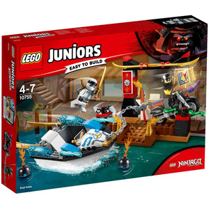 Lego Juniors Zanes Ninja Boat Pursuit 10755