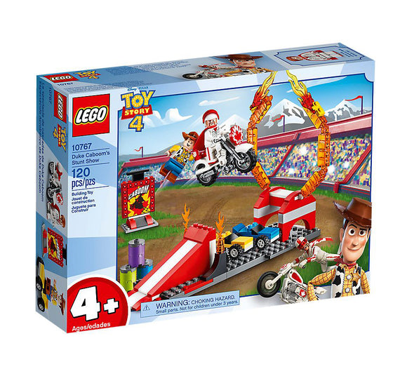 Lego Juniors Toy Story 4 Duke Caboom's Stunt Show 10767