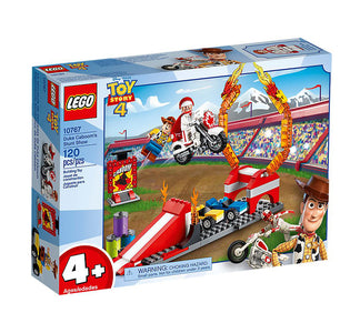 You added <b><u>Lego Juniors Toy Story 4 Duke Caboom's Stunt Show 10767</u></b> to your cart.