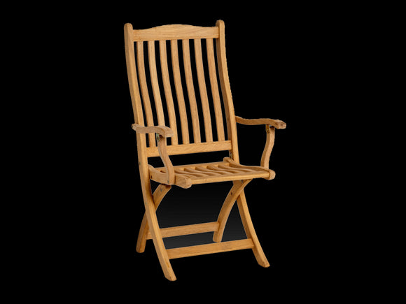 Alexander Rose Roble Folding Carver Chair
