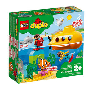 Lego Duplo Submarine Adventure 10910