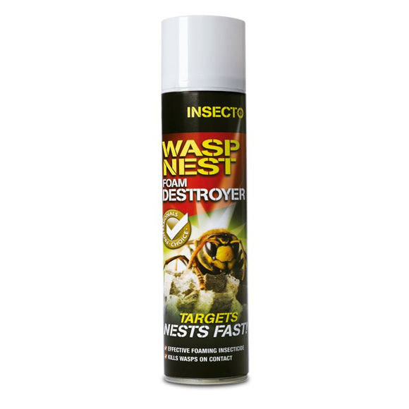 Insecto Wasp Nest Foam Destroyer 300ml
