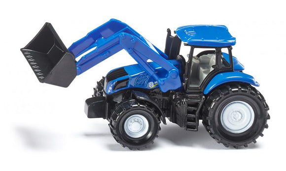 Siku New Holland Front Loader Tractor Toy 1355