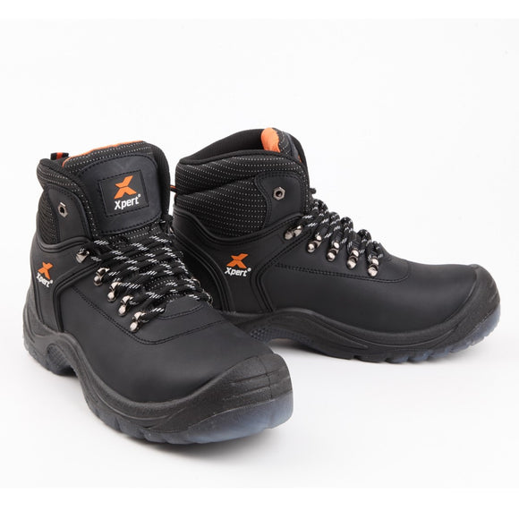 Xpert Safety Hiker Boots Warrior XP500 Black