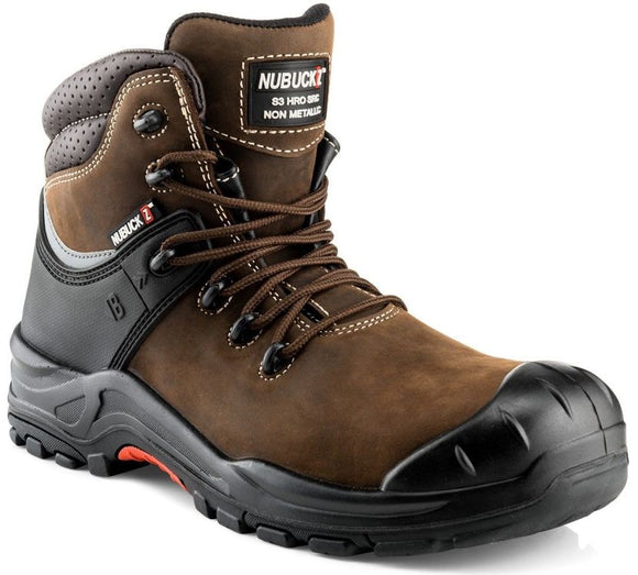 Buckler Nubuckz Safety Boots