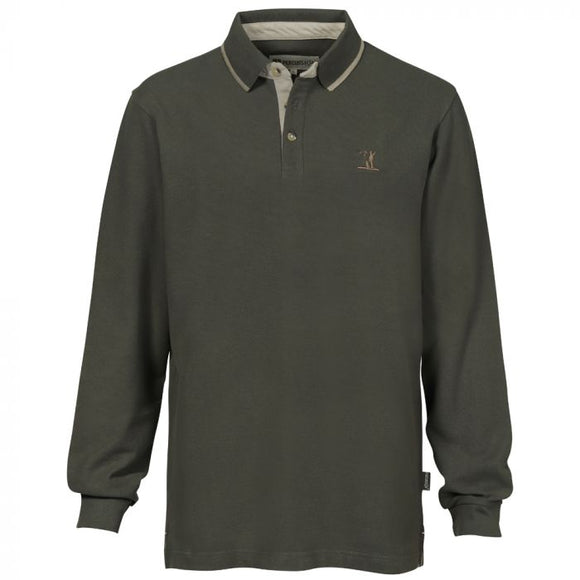 Percussion Long Sleeve Hunting Polo Shirt
