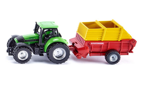 You added <b><u>Siku Deutz Tractor with Pöttinger Loader Wagon 1676</u></b> to your cart.